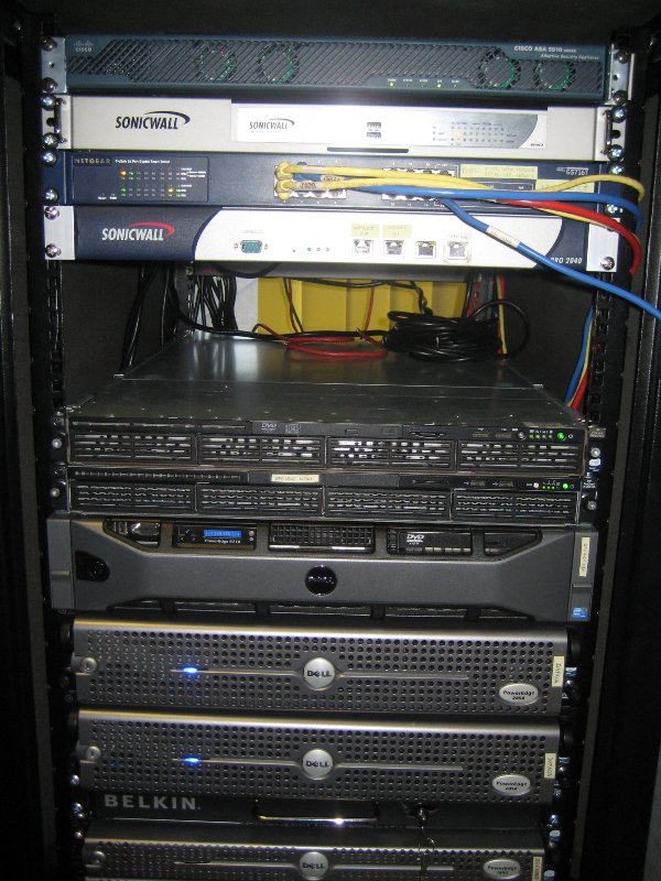 Production environment rack