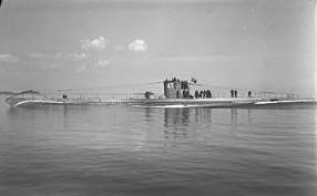 U-class German Submarine - two of these neutralized by Jerzy Iwanow-Szajnowicz